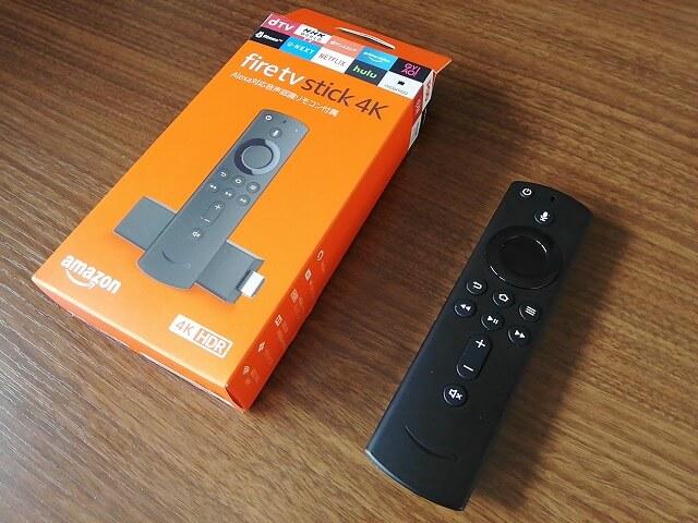 購入したのはFire TV Stickの4Kモデル