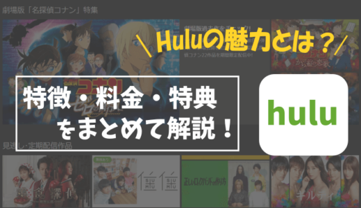 Huluの特徴や魅力を詳しく解説!
